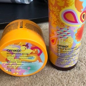 Amika shampoo is almost brand new
